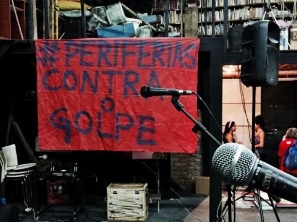 Taboão da Serra recebe ato das periferias contra o impeachment da presidenta Dilma. (Foto: Sato do Brasil)