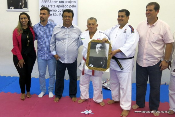 Presidente do PRB Taboão, Priscila Sampaio, Fábio Fernandes, Fernando Fernandes, Nelson Onmura, Jean Madeira e Alessandro Puglia.