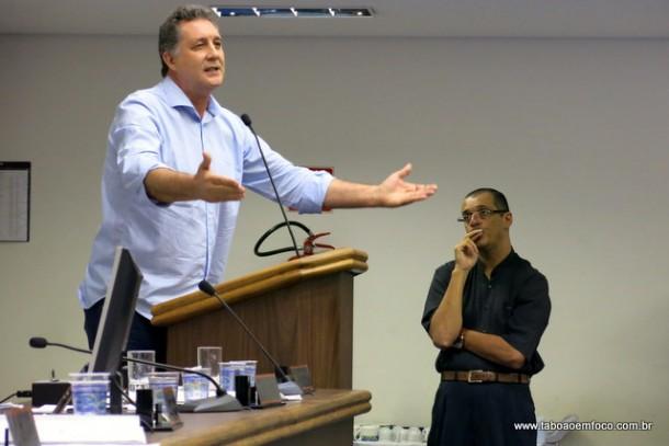 Uma semana após atacar, Marco Porta e Eduardo Lopes, vereador Luiz Lune recua e admite que exagerou.