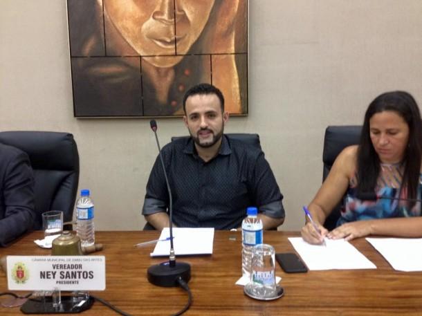 Ney Santos continua no cargo de vereador após conseguir mais uma liminar com efeito suspensivo. (Foto: Divulgação)