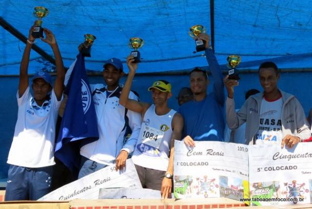 Cinco melhores do masculino da Corrida do Trabalhador de Taboao da Serra 2016