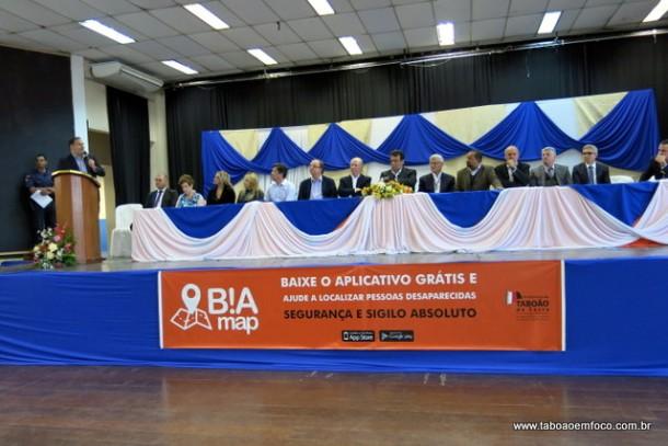 Lançamento do App B!aMap em Taboão da Serra.
