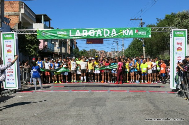 Mais de mil atletas vão correr a 12ª edição da Corrida do Trabalhador de Taboão da Serra. (Foto: Arquivo-2016)