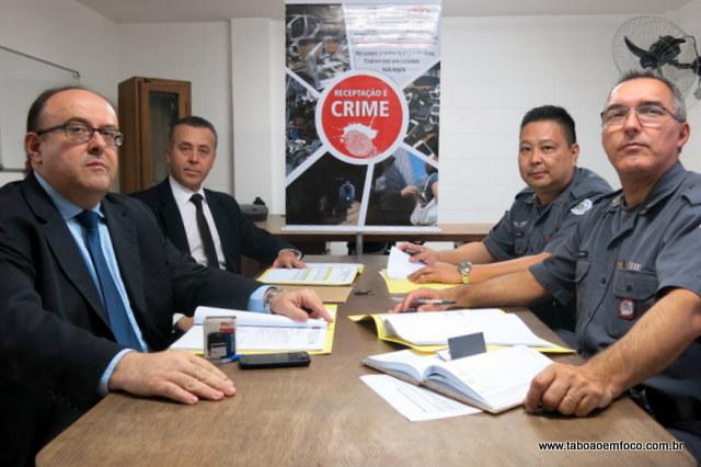 Polícia Civil e Militar vão intensificar ações contra receptadores em Taboão da Serra e região.