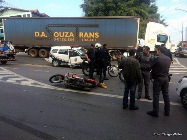 Motoqueiro morre após acidente na Vila Iasi.