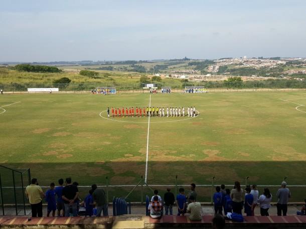 O CATS perdeu pra o Desportivo Brasil, na cidade de Porto Feliz, por 2 a 0. (Foto: Divulgação/Twitter Desportivo Brasil)