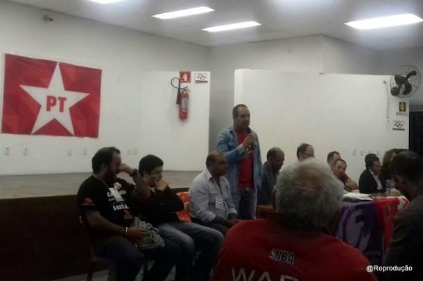 Oderlan bem que tentou ser o candidato a prefeito do PT nas eleições municipais, mas partido fecha apoio ao Aprígio.