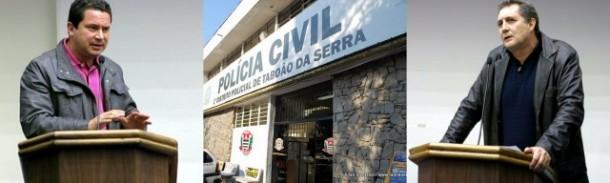 Confusão entre os vereadores Eduardo Nóbrega e Luiz Lune termina no 1º DP de Taboão da Serra.