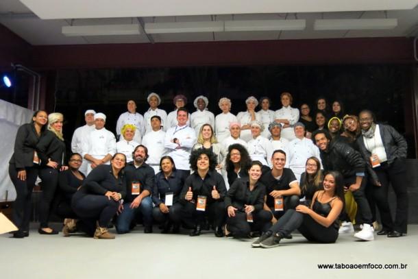 Organizadores do Festival Soul Black no Senac Taboão