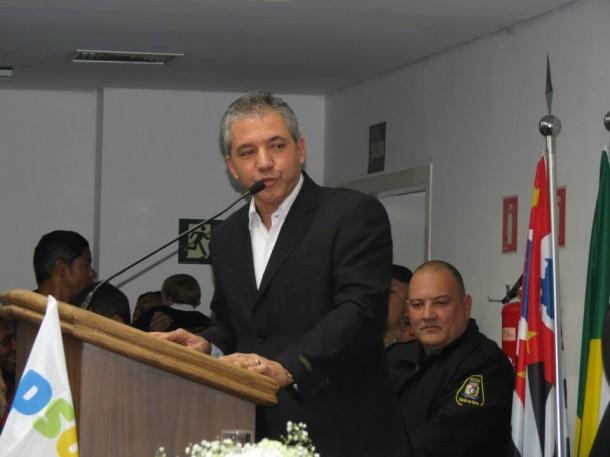 Ex-vereador Alexandre Depieri é o Plano B do Aprígio, caso Luiz Lune não seja o seu pré-candidato a vice-prefeito.