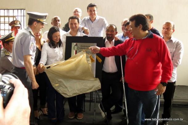 Corpo de Bombeiros de Taboão da Serra é inaugurado em Taboão da Serra.