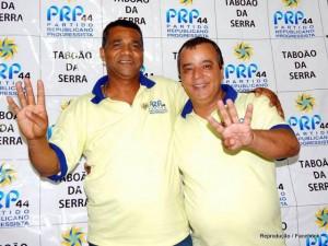 A executiva do PRP deseja essa dupla na disputa das eleições municipais. Donizete e Plínio, que o rejeitou.