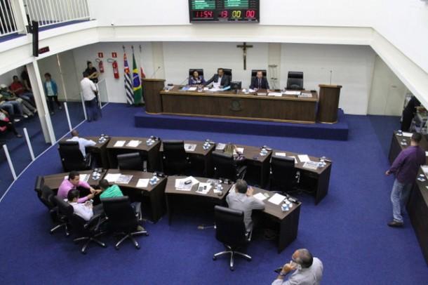 Vereadores realizam duas sessões extraordinárias e entram em recesso. (Foto: Cynthia Gonçalves / CMTS)