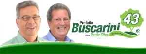 Banner Buscarini e Paulo Silas