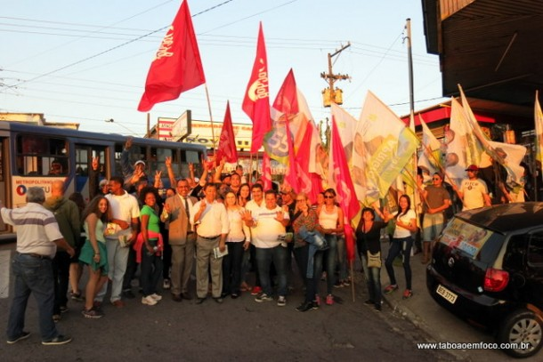 Aprígio caminhou na Estrada Benedito Cesário de Oliveira na quinta (25)