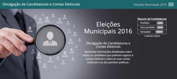 Mais de 63 mil políticos do Brasil já registraram suas candidaturas e nenhum é de Taboão da Serra.