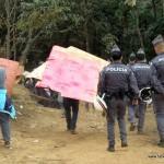Mais de 200 policiais participaram da reintegração de posse