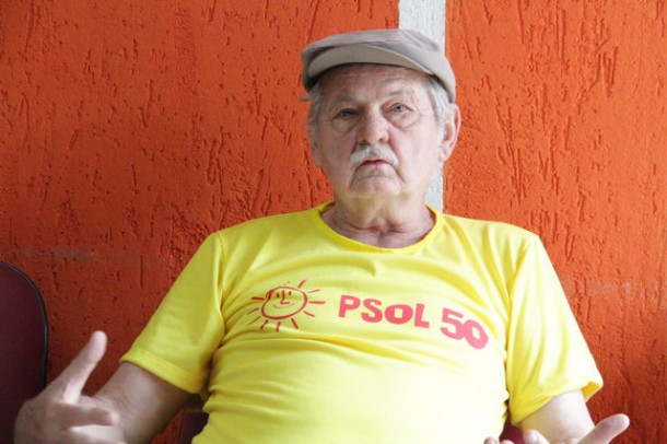 Stan é o candidato do Psol em Taboão da Serra