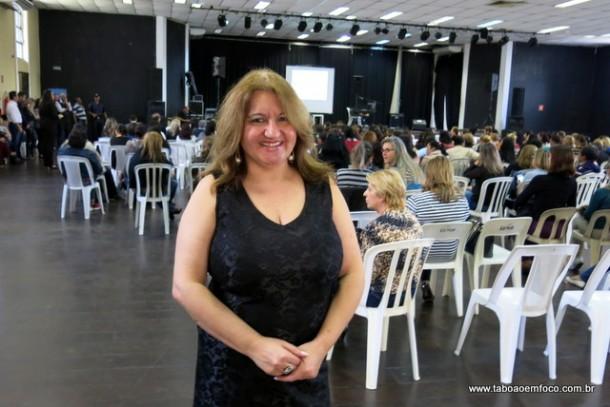 Coordenadora dos Direitos das Mulheres, Sueli Amoedo.
