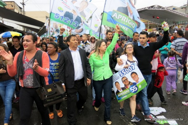 Aprígio transformou desfile cívico em ato político e quase termina em confusão