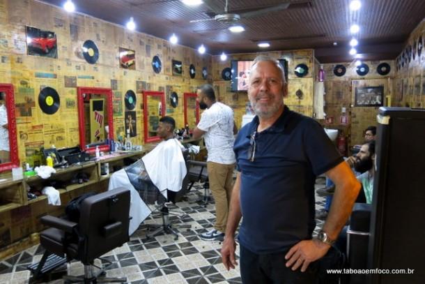 Pereira é o proprietário da Bar.bearia Alpaccino em Taboão da Serra.