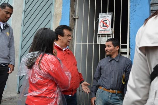 Candidato a reeleição, Fernando diz acreditar que vence a eleição no primeiro turno. (Foto: Sandra Pereira)