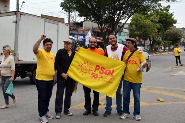 Candidato do Psol disputa a Prefeitura pela segunda vez. (Foto: Sandra Pereira)