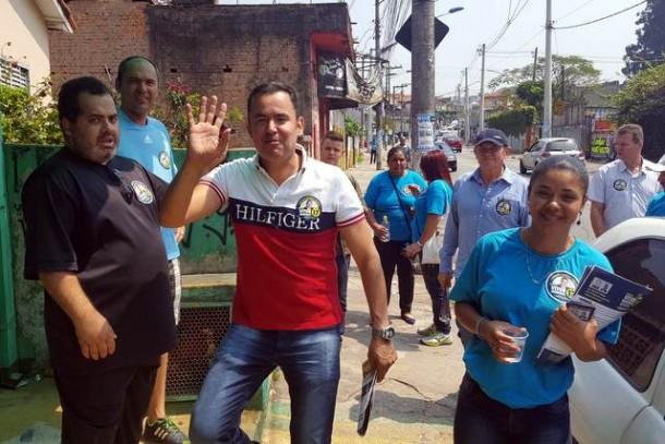 Medeiros diz confiar que Taboão terá segundo turno. (Foto: Sandra Pereira)