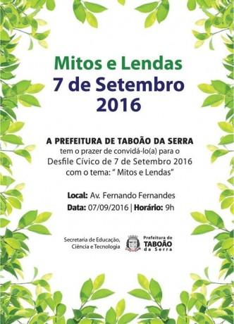 Cartaz 7 de Setembro 2016