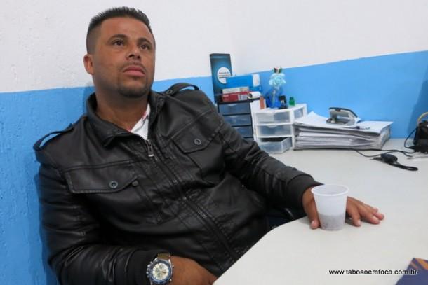 Alex Bodinho foi o 5º vereador mais votado de Taboão da Serra com 3.734 votos e vai ocupar uma vaga na Câmara Municipal de 2017 a 2020.