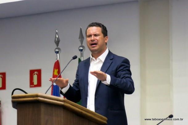 Eduardo Nóbrega diz que cumpre o seu mandato como vereador e será candidato a prefeito de Taboão da Serra em 2020.
