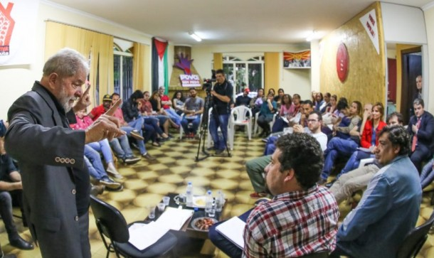 Lula esteve em Taboão da Serra nesta quinta-feira (6). (Foto: Divulgação / Instituto Lula)
