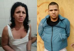 Acusados presos em Taboão da Serra em parceria com a SSP de Sergipe. (Foto: Divulgação)