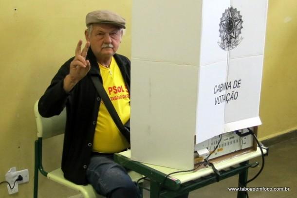 Stan disputou a Prefeitura de Taboão da Serra pela segunda vez.