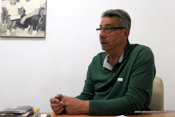 Buscarini disputou o cargo de prefeito de Taboão da Serra e ficou em terceiro lugar.