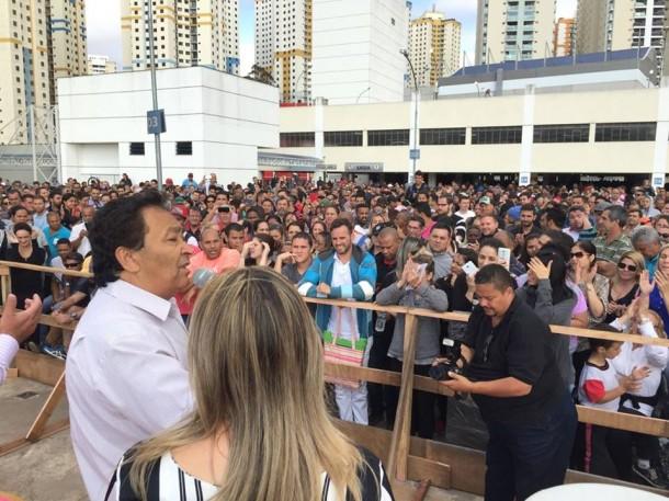 Mais de 6 mil pessoas vão se reunir neste sábado a partir das 10h no Centro Empresarial em Taboão da Serra. (Foto: Reprodução)