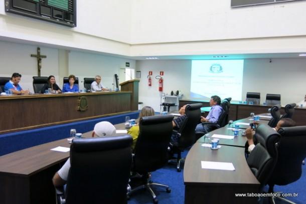 Secretaria de saúde de Taboão da Serra prestou contas em audiência pública na Câmara Municipal.