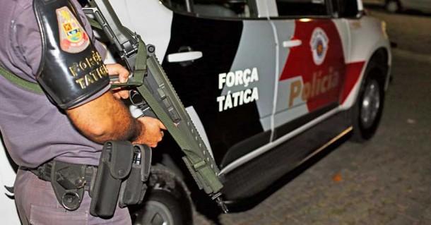 Policiais de Taboão e região que compõem a Força Tática da PM serão transferidos para Barueri. (Foto: Reprodução)