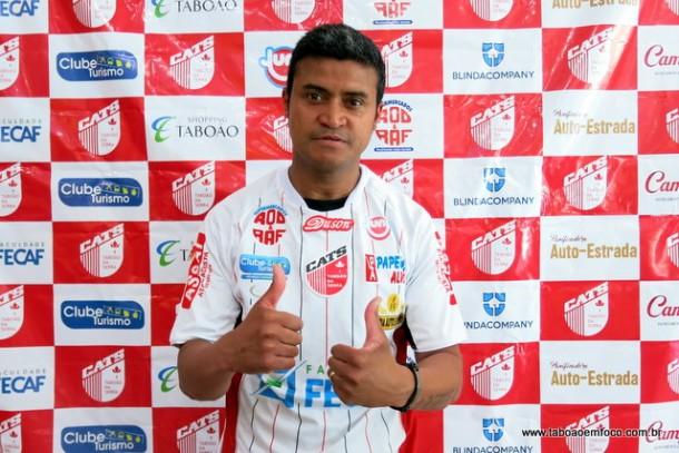 Gabiru é o novo jogador do Clube Atlético Taboão da Serra.