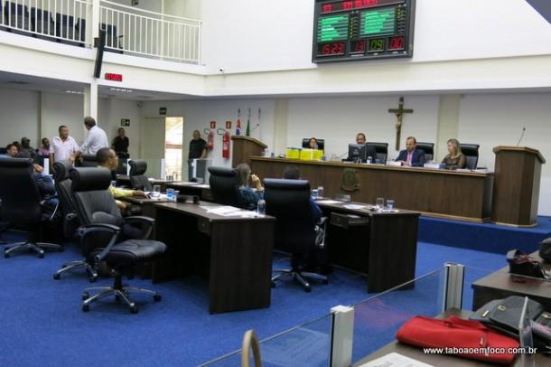 Câmara de Taboão da Serra fixa salários de prefeito, vice e secretários para os próximos quatro anos.