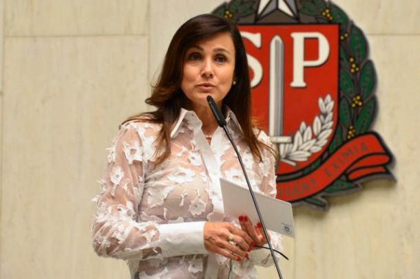 Deputada Estadual Analice Fernandes é autora de lei que auxiliam no combate a violência contra a mulher. (Foto: Divulgação)