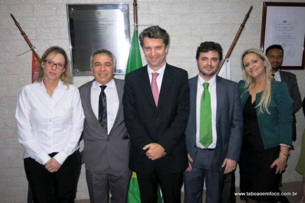 Diretoria da OAB Taboão da Serra, eleita para o triênio de 2016 a 2018.
