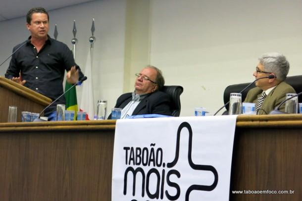 Eduardo Nóbrega prometo apresentar um voto de lamento ao comando da Secretaria de Segurança Pública do Estado por não consultar as autoridades locais.