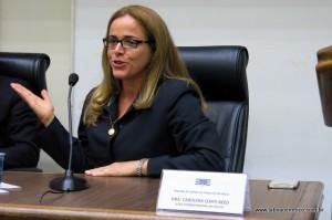A juíza Dra. Carolina Conti Reed é a coordenadora do Cejusc em Taboão da Serra.