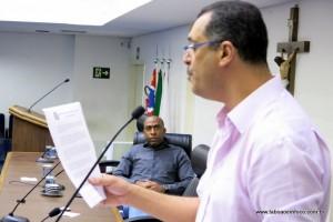 Marco Porta e Eduardo Lopes explicam sobre a ausência dos principais responsáveis pelo processo que culminou com a CPI.