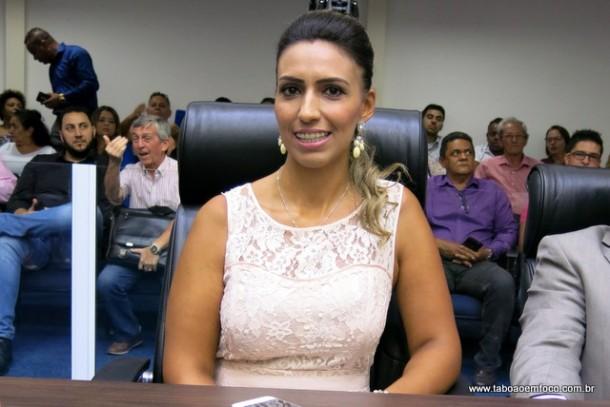 Priscila Sampaio foi eleita vereadora de Taboão da Serra com 2.363 votos.