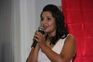 Nova presidente da Câmara Municipal de Taboão da Serra, Joice Silva. (Foto: Cynthia Gonçalves / CMTS)