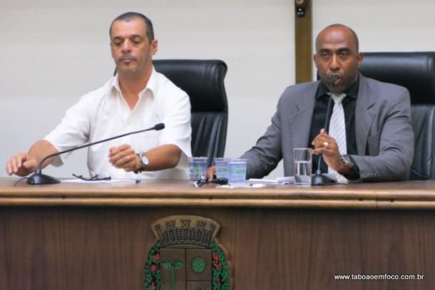 Ex-vereadores Marco Porta e Eduardo Lopes viram secretários adjuntos na Prefeitura de Taboão da Serra. (Foto: Arquivo)