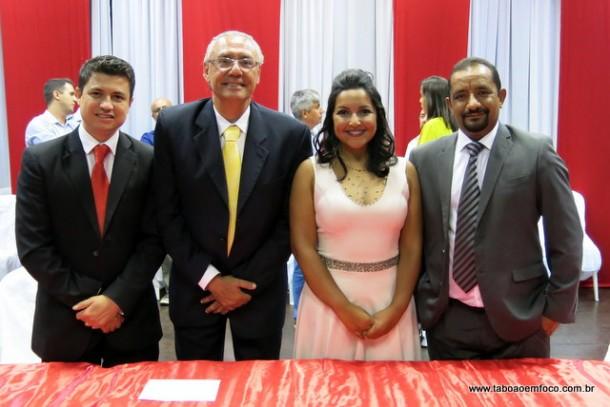 Nova mesa diretora da Câmara de Taboão da Serra.