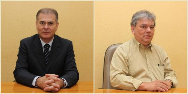 Gerson Brito deixa a secretaria de Segurança para assumir o lugar de Rinaldo Tacola no Transportes. (Fotos: Divulgação / PMTS)